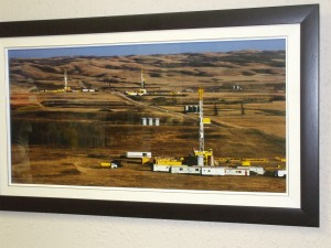 Photograph donated by Eagle Drilling
