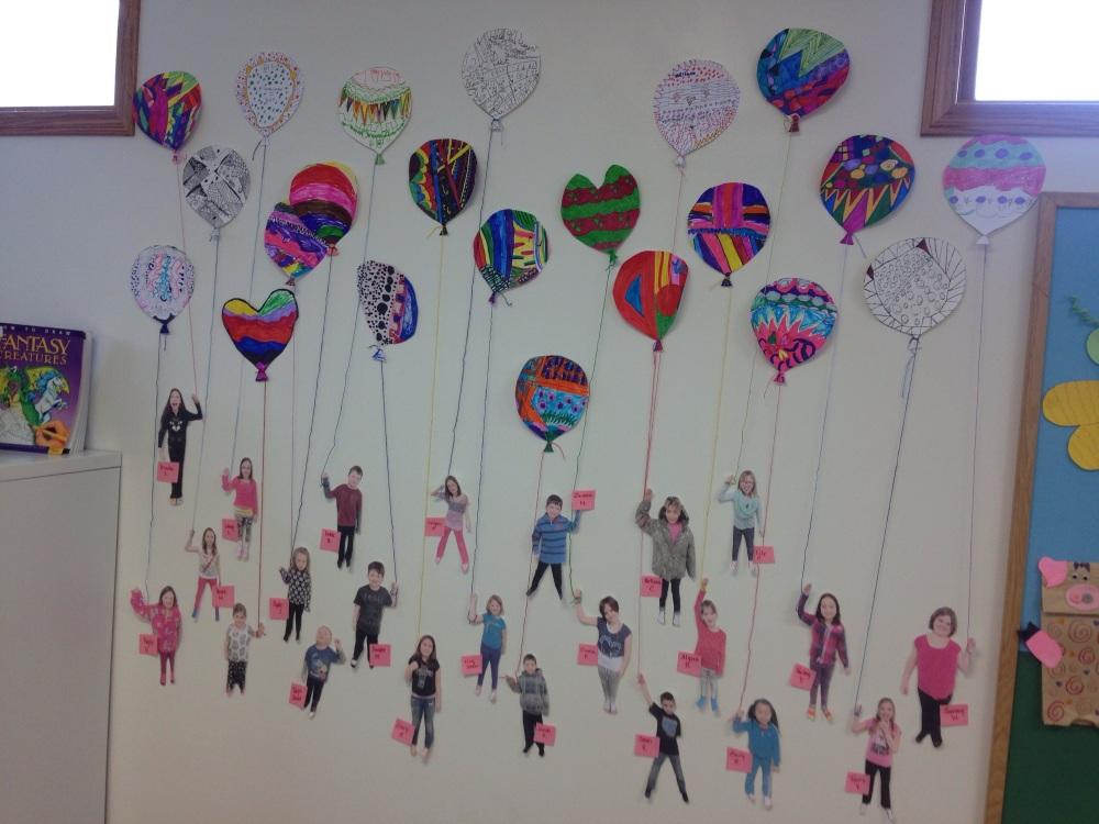 Art Class: Zentangle Balloons